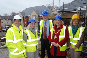 Guests Of Honour Highly Delighted By New Care Development's Topping Out Ceremony