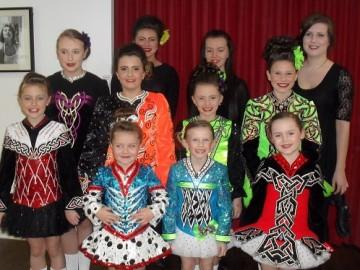 Irish Dancers at Bridge House