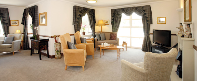 The home is furnished elegantly and fitted to a high and exacting