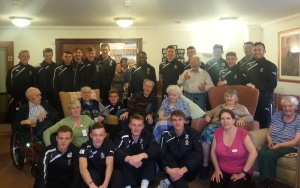 Bramley Court Welcomes Cambridge United Scholars for Afternoon Tea