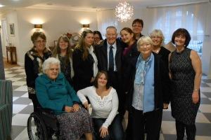 Queen Elizabeth Park resident's surprise 90th birthday treat!