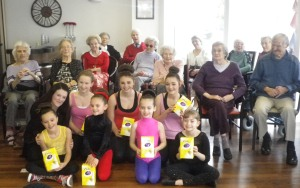 Alderwood welcomes local dance group to home