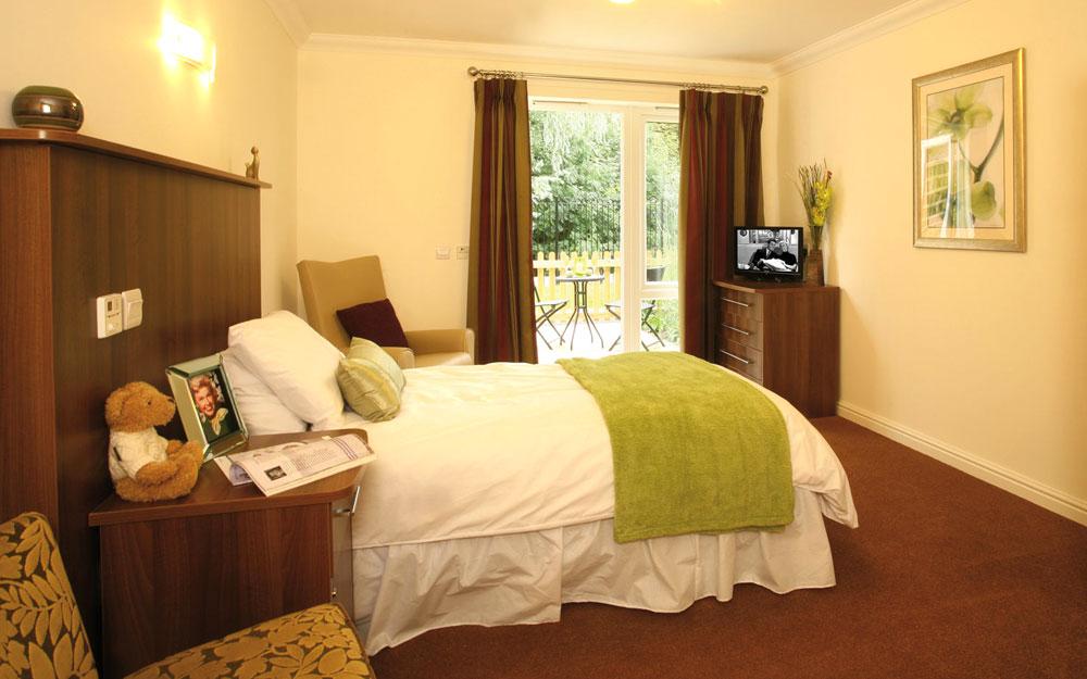 Interior bedroom, Alderwood