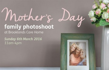 Mother's Day at Brooklands Care Home