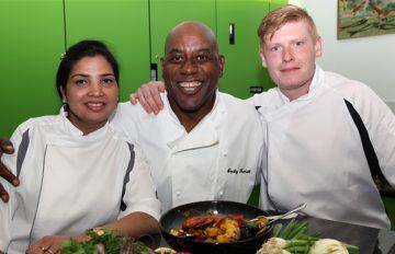 Ainsley Harriott Inspires Our Chefs