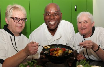 Ainsley Harriott Inspires Our Chefs