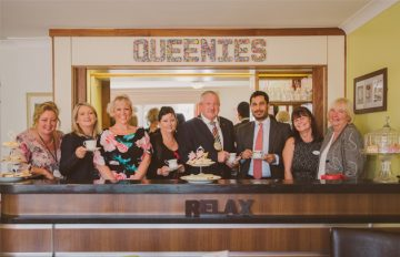 Introducing 'Queenies' Vintage Tea Room