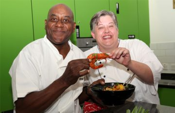Ainsley Harriott Inspires Waltham Abbey Care Home Chefs