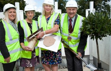 Topping Out at Cherry Wood Grange