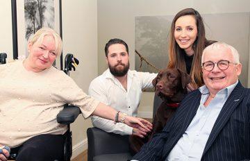 Meet Charlie, Our Chocolate Labrador