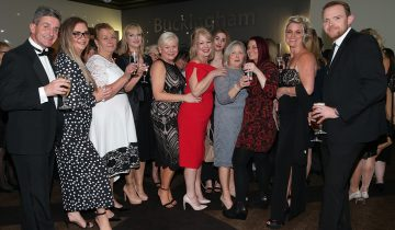 Winners at the East of England Care Awards 2018