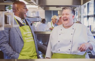 Ainsley Harriott inspires 1 Sewardstone Close chefs