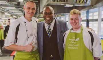 Ainsley Harriott inspires Acorn Court chefs