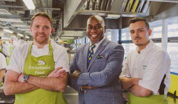 Ainsley Harriott inspires Alderwood chefs