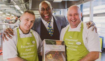 Ainsley Harriott inspires Bramley Court chefs