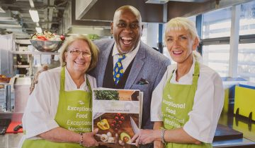 Ainsley Harriott inspires The Spinney chefs