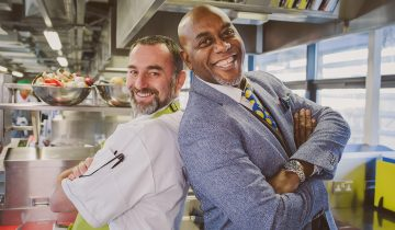 Ainsley Harriott inspires Water Mill House chefs