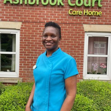 Care Assistant Hilma celebrates 14 years at Ashbrook Court