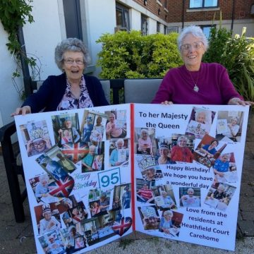 RESIDENTS 'TROOP' OUT FOR QUEEN'S OFFICIAL BIRTHDAY